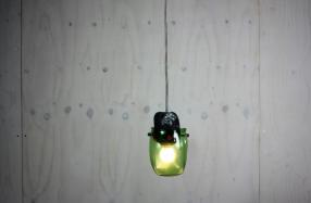 Textile Moulded Light — green — SOLD OUT